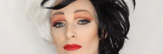 Maquillaje de cruella de vil
