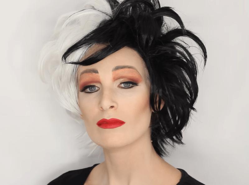 makeup de cruella de vil