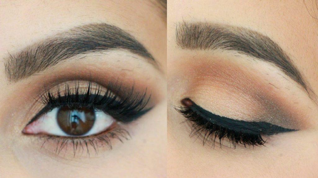maquillaje en tonos cálidos para tus ojos