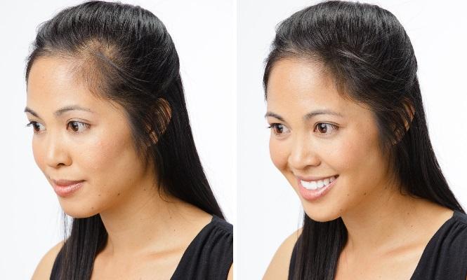 maquillaje capilar para mujer