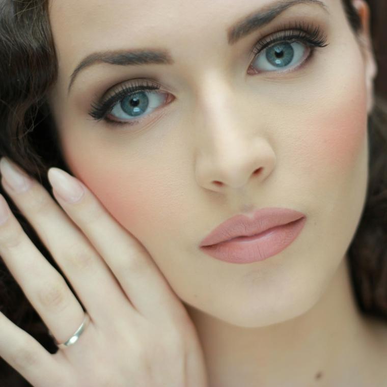 como maquillarse elegante natural