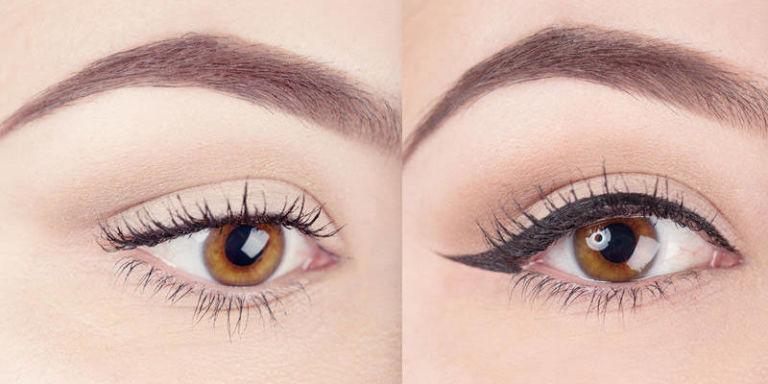 tipo de maquillaje para ojos