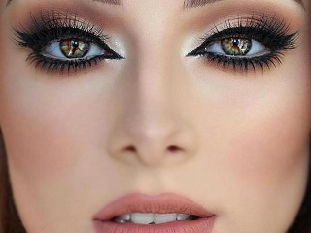 maquillaje para ojos fin de año