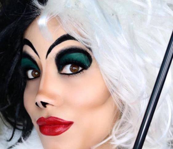 maquillaje para halloween disney