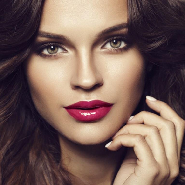 maquillaje para labios rojo perfecto
