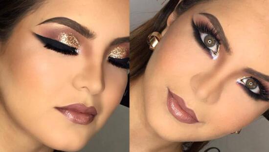 maquillaje de noche estilos