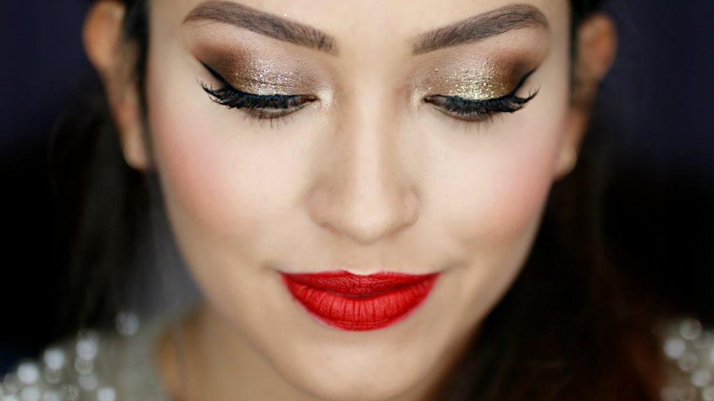 maquillaje navideño perfecto