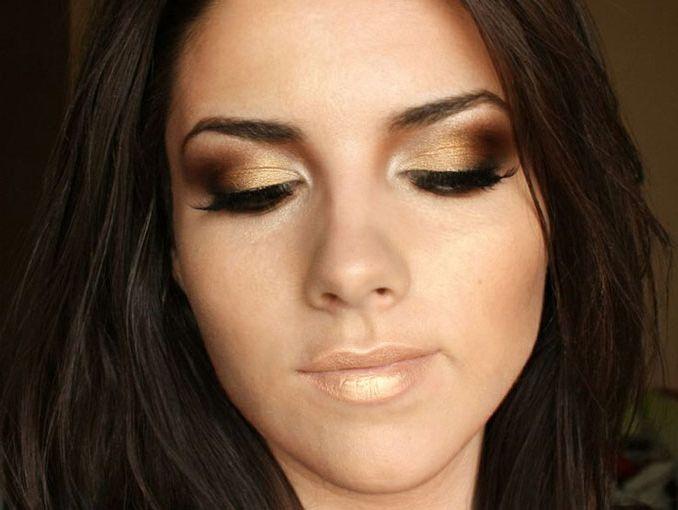 maquillaje para ojos sencillo