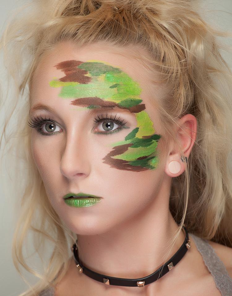 pintura verde combinado
