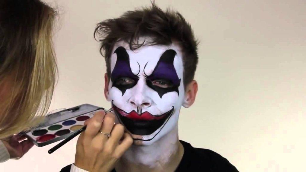 maquillaje de payaso asesino paso a paso
