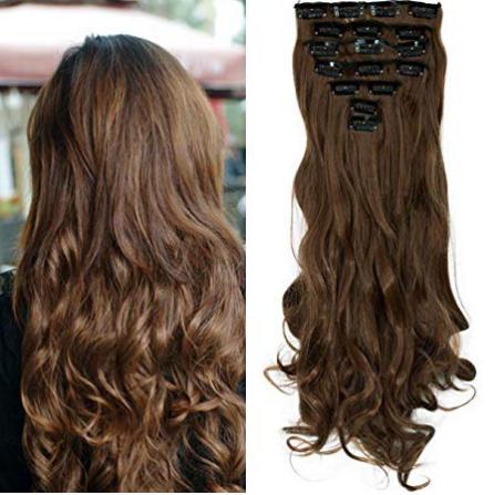 extensiones de cabello en amazon