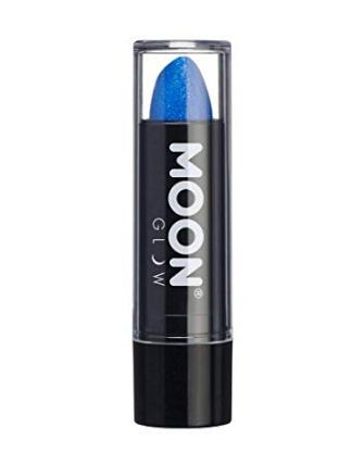 labial azul para maquillaje de batgirl