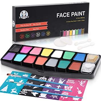 pintura facial lenbest