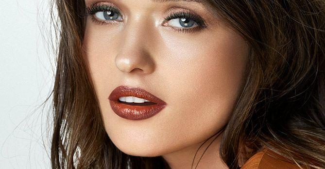 maquillaje natural con iluminador