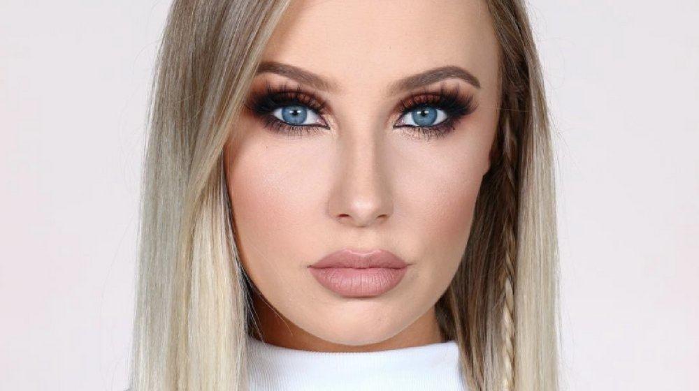 maquillaje de dia a dia para ojos azules