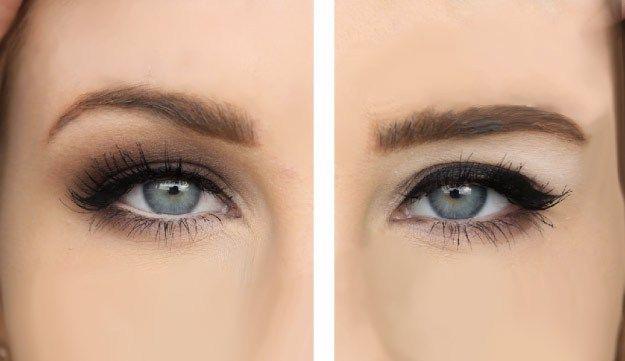 tips maquillaje para ojos caidos