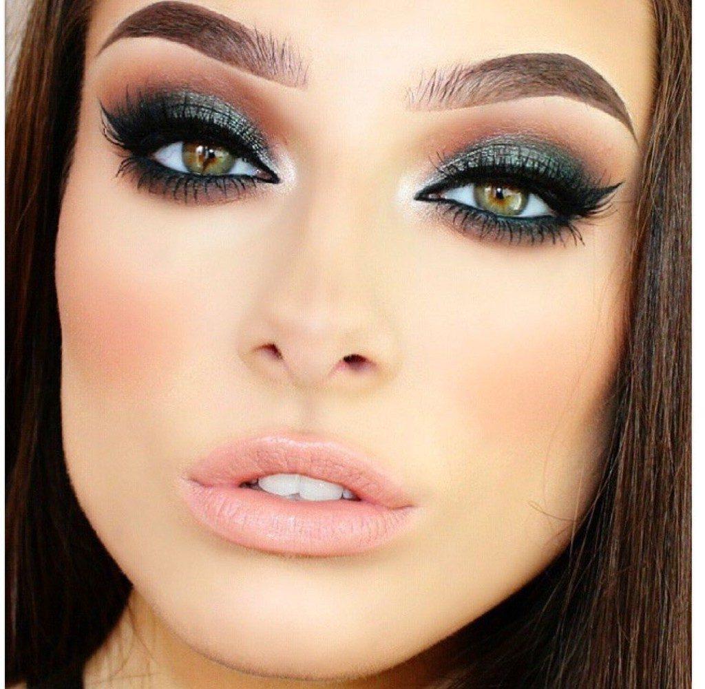 maquillaje de ojos verdes perfecto