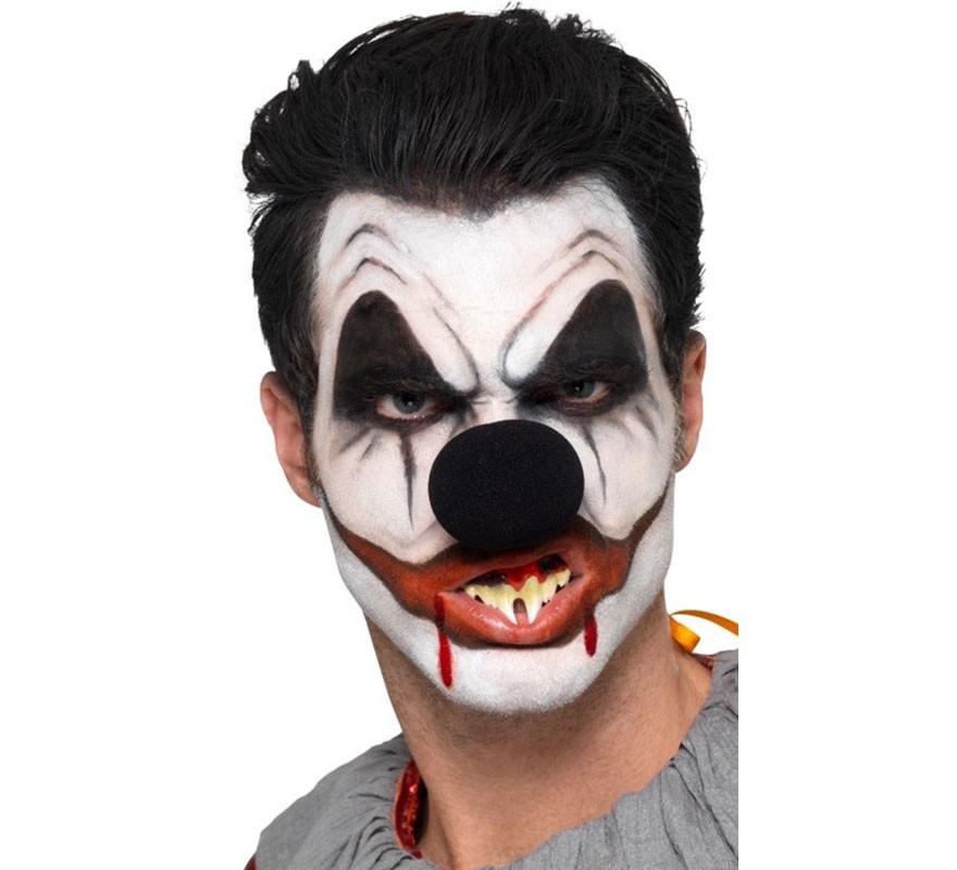 maquillaje payaso asesino para hombre halloween
