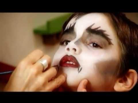 como hacer un maquillaje de vampiro perfecto