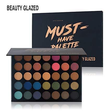 paleta de sombras de ojos profesionales beauty glazed