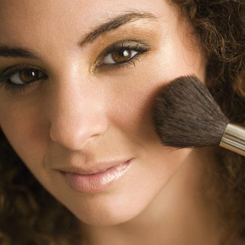 polvos nacarados para maquillaje noche