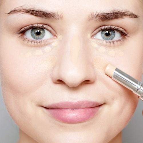tutorial de maquillaje - aplica corector
