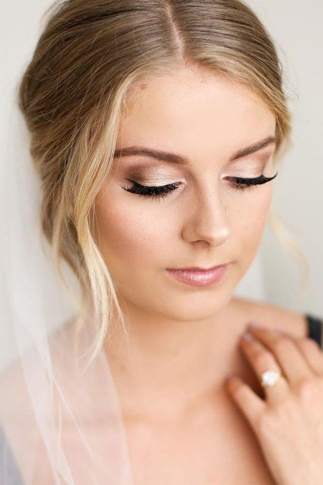 resultado de maquillaje beige para boda