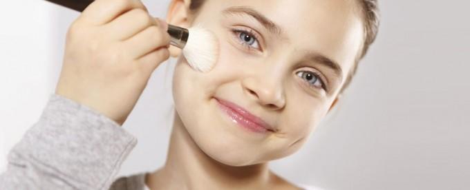 como maquillar casual para niñas