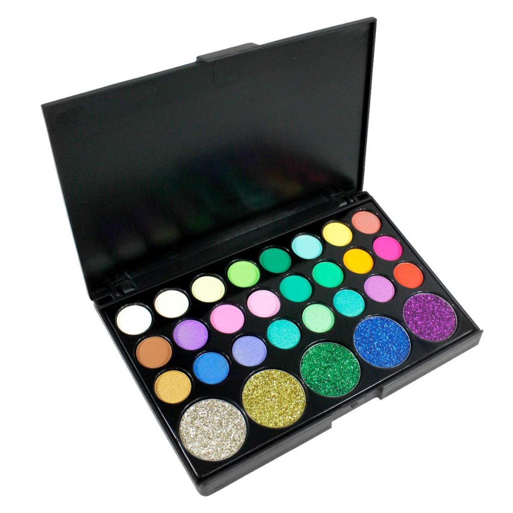 kit de sombras brillantes disino en amazon