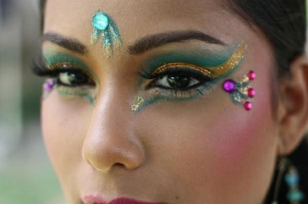 maquillaje carnavalero