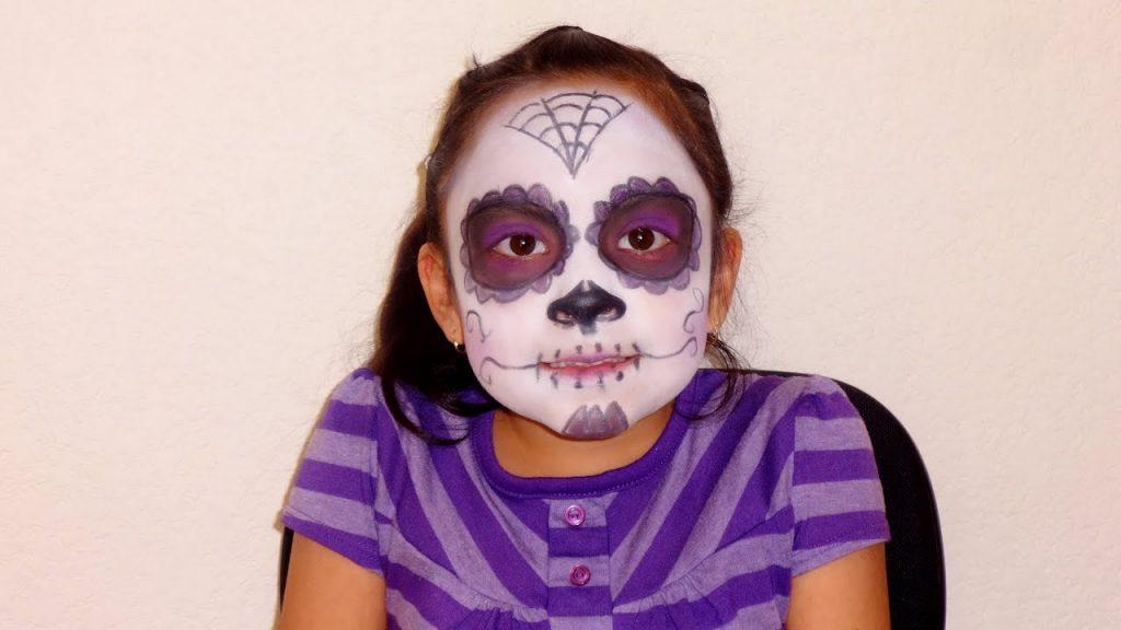 maquillaje catrina sencillo para halloween