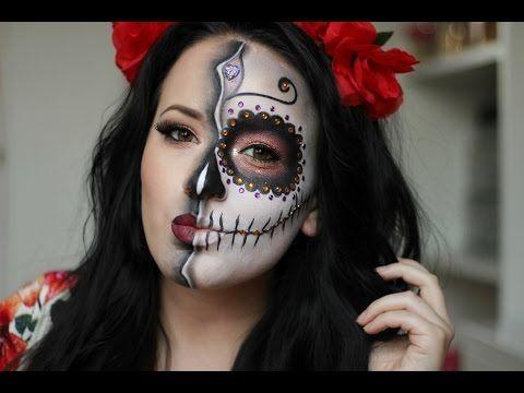 paso a paso de maquillaje catrina para halloween