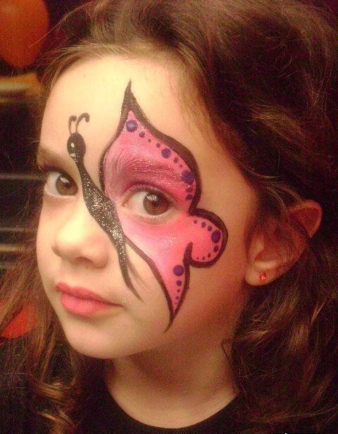 maquillaje fantasía para niña