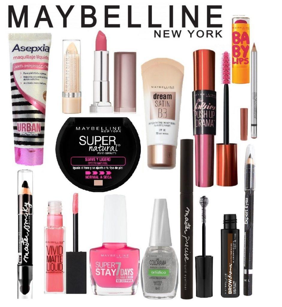 mejores marcas de maquillaje - maybelline new york