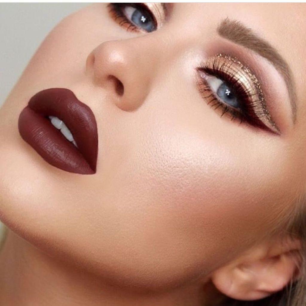 maquillaje noche intenso