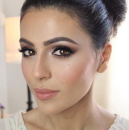 maquillaje de novia natural y sencillo