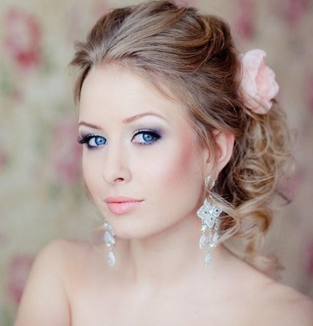 maquillaje para novia de piel clara