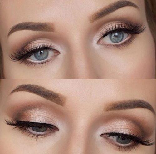maquillaje de diario para ojos natural
