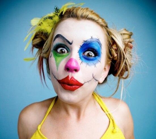 procedimientos para hacer un maquillaje de payaso