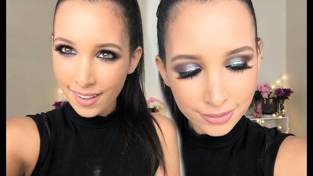 como hacer un maquillaje de noche sencillo