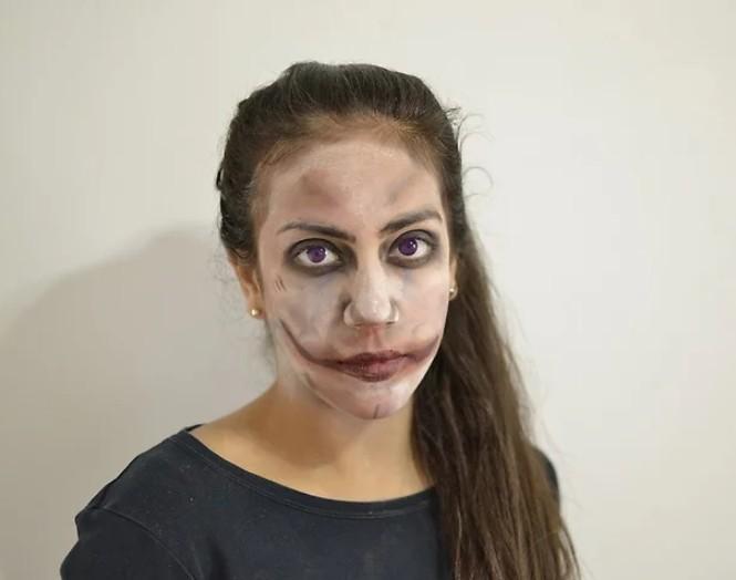 maquillaje de zombie fácil