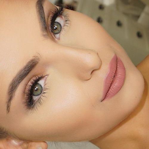 maquillaje natural de dia para ojos verdes