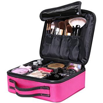 luxspire neceser maletín de maquillaje profesional