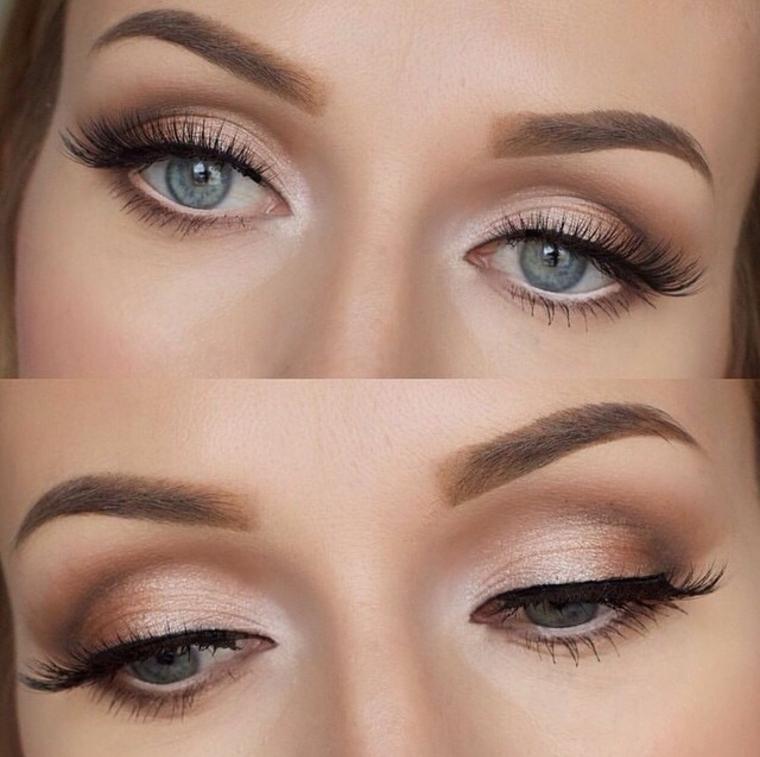 maquillaje ojos natural fabuloso acabado