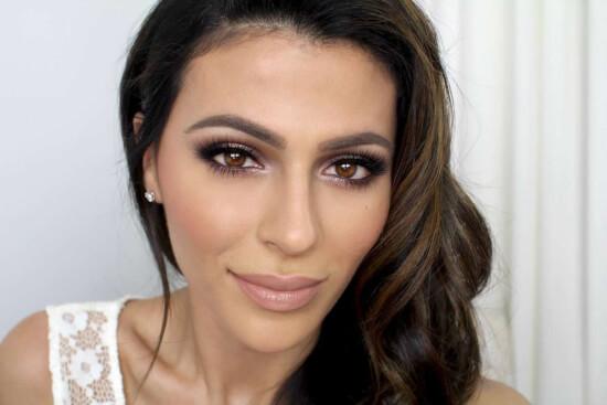 maquillaje natural ojos marrónes