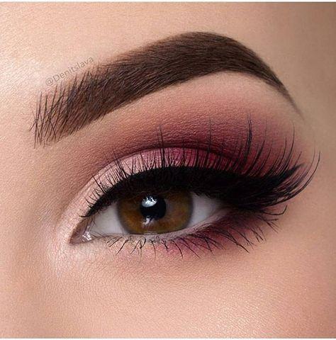 maquillaje de ojos rosa para boda