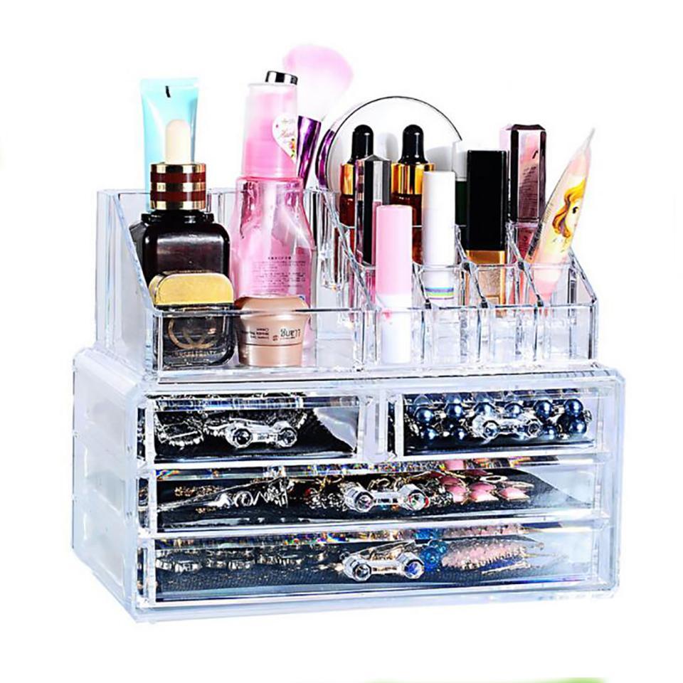 caja organizador de maquillaje