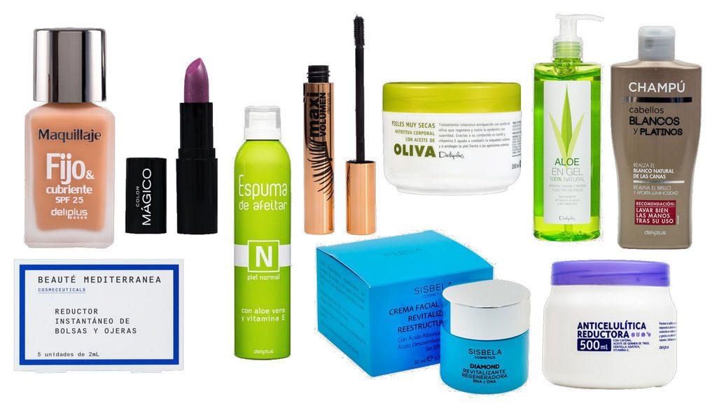 productos catálogo de belleza mercadona, deliplus