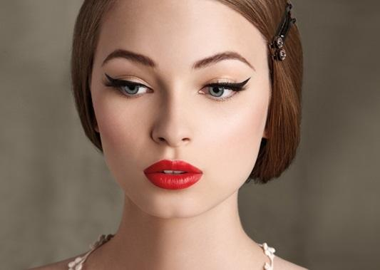 maquillaje pin up hermoso