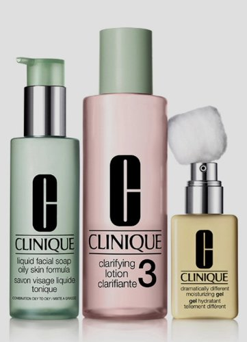 maquillaje clinique de tres pasos